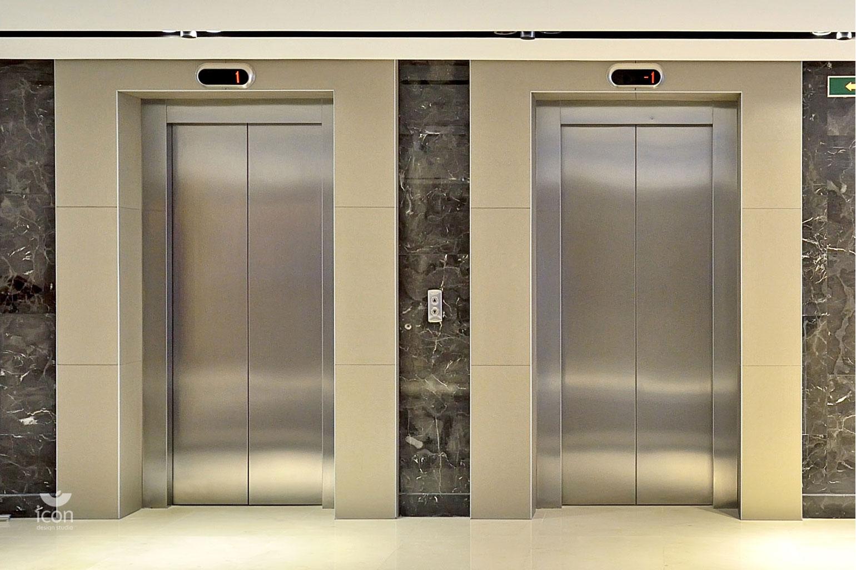 Картинка у лифта